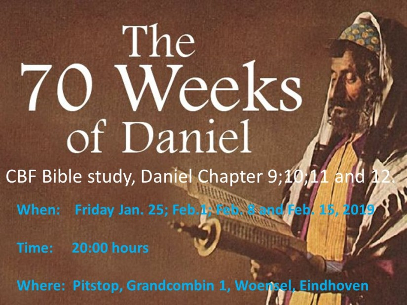 Daniel 70 weeks announcement